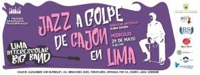 Lima Interescolar Big Band ganadora de Festival en EE.UU. se presentará en el ColegioHumboldt