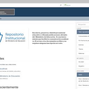 Biblioteca Virtual de Recursos educativos del Minedu cuenta con 5 mildocumentos