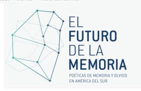 El Goethe Institut lanzó sitio web articulador de eventos y archivo multimedia para la Memoria enSudamérica