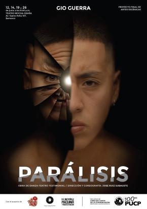 Danza-Teatro testimonial 'Parálisis' en dos últimasfunciones