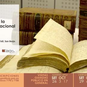 Visitas guiadas gratuitas para conocer las joyas de la Biblioteca Nacional delPerú