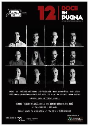 """Afamada película """"12 hombres en pugna"""" es adaptada e interpretada por destacado elencoperuano"""