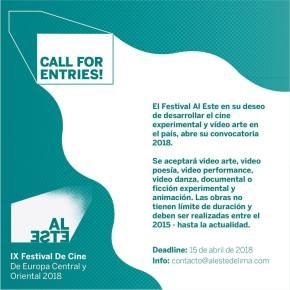 Festival Al Este de Lima convoca artistas a que presenten videoartes y obras audiovisualesexperimentales