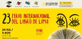 FERIA INTERNACIONAL DEL LIBRO DE LIMA 2018 tendrá a España como país Invitado deHonor.