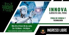 INNOVA, Feria de ciencia y tecnología en el Cuartel General del Ejército delPerú