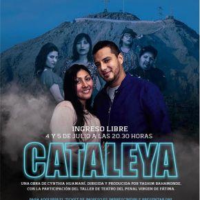 Obra de teatro Cataleya con la participación del Taller del teatro del penal Virgen deFátima
