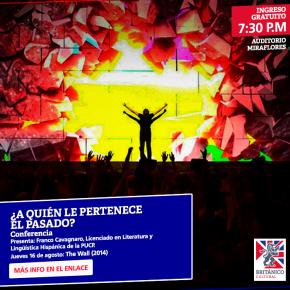 ¿A quién le pertenece el pasado? Conferencias sobre cine y patrimonio en la Asociación PeruanoBritánica