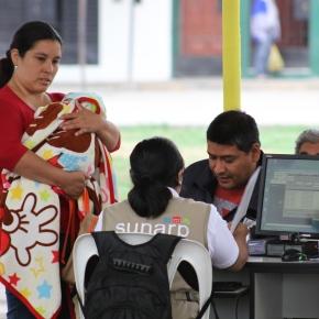 Inscripción de parejas convivientes en Perú a través de laSUNARP