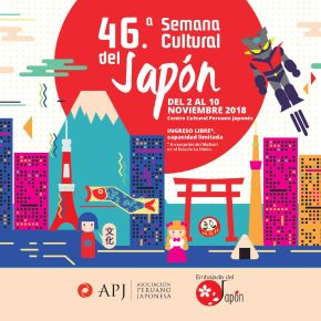 2 al 10 Noviembre: 46 Semana Cultural del Japón: Gastronomía, Danza, Juegos, Meka (Robots de metal), Historia, Música ymás
