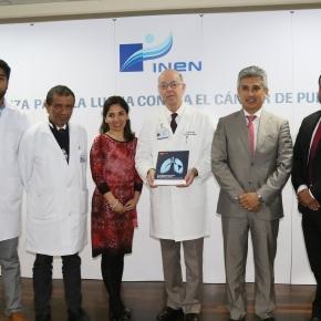 Inen e instituciones de la sociedad civil se unen en la lucha contra el cáncer de pulmón enPerú