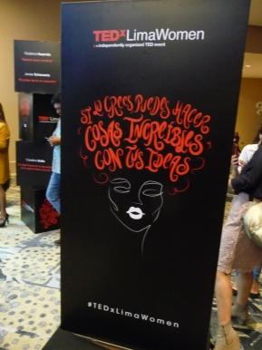 Valentía por ser uno mismo en TEDxLimaWomen : Ani Alva y GiulianaHuamán