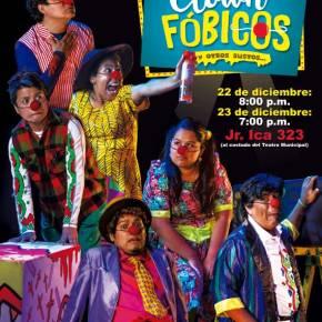 """""""Clownfóbicos y otros sustos"""": Espectáculo de clown sólo paraadultos"""