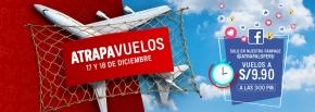 Aerolíneas vuelven a ofrecer pasajes a precios muy bajos en alianza conAtrápalo