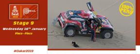 Dakar 2019 Etapa 9 Pisco-Pisco: Lo esencial y la llegada hacia la Feria Dakar en la CostaVerde