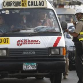 Multa por conducir sin brevete o permiso provisional cuesta la mitad que por conducir ebrio o drogado enPerú