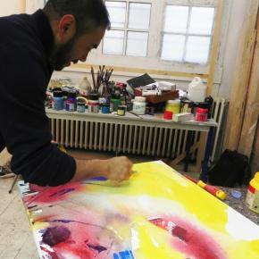 Pintor peruano gana en Francia el premio del 66 Salón de Charenton2019