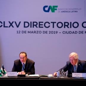 CAF invertirá USD 10 millones en la segunda etapa de proyectos de infraestructura y USD 580 millones para programas de AméricaLatina