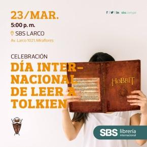 """Celebración por adelantado del """"Día internacional de leer a Tolkien"""" con la Sociedad TolkienPeruana"""