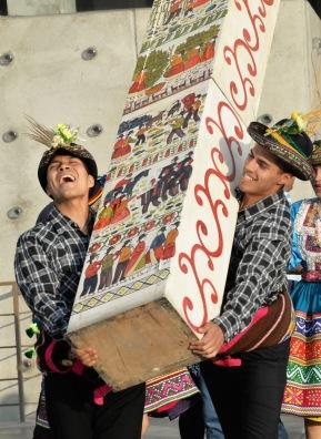 """""""Sarhua, tablas de vida"""" obra de música y danzas en el Gran TeatroNacional"""