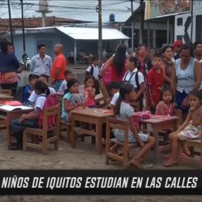 Estado calamitoso de muchos colegios peruanos por resolver en agenda del nuevo Consejo deMinistros