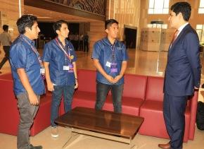 Estudiantes peruanos de la UNI se encuentran entre los 10 mejores programadores del concurso mundial CodeVita en LaIndia