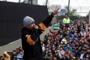 PANGEA PERÚ 2019: Competencia de rap improvisado en Parque de laMuralla