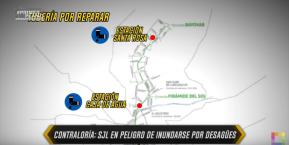 San Juan de Lurigancho corre peligro de inundarse por desagües nuevamente de no atender instrucciones de Contraloría delPerú