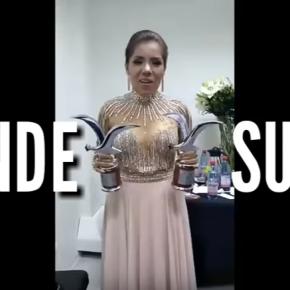 Susan Ochoa, cantante peruana demuestra su talento y perseverancia em escenarios como Viña del mar donde ganó dos gaviotas deplata