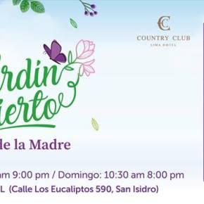 Este 4 y 5 de mayo Jardín Abierto y Magia se unen por los niños concáncer