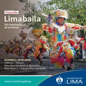 La ciudad de Lima celebra el Día Internacional de laDanza