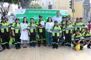 Municipalidad de Barranco inaugura primera  'Estación dereciclaje'
