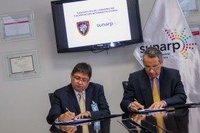 Sunarp y Agencia de Compras de las FF. AA. suscriben convenio para optimizar procesos de contrataciones en sectorDefensa