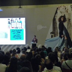 Unirse a la revolución de la moda, el llamado es para todos: Patrick Duffy en Perú Moda2019