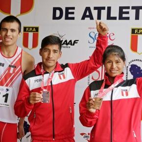 Atletas peruanos obtienen cuatro medallas de bronce y una de plata en Campeonato Sudamericano de Atletismo deMayores