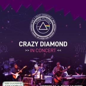 Crazy Diamond, apasionados de Pink Floyd en concierto el 31 demayo