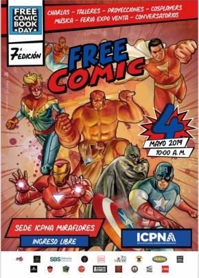El Día del libro del cómic gratis: Séptima edición en elICPNA