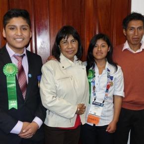 "Feria Internacional de Ciencia e Ingeniería ""Intel ISEF 2019"" premia a escolaresperuanos"
