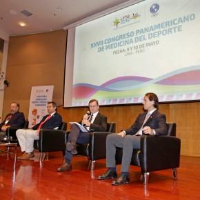 LIMA 2019 inauguró XXVII Congreso Panamericano de Medicina delDeporte