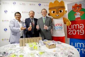 LIMA 2019 presentó kits antidopaje para los Juegos Panamericanos y Parapanamericanos