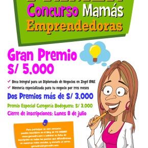 Primer concurso del Blog Yo Madre para mamás emprendedoras otorgará 12 mil soles para ganadoras y  becas deestudios