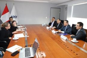 Reino Unido y Adex suman esfuerzos para apoyar exportación en regionesperuanas
