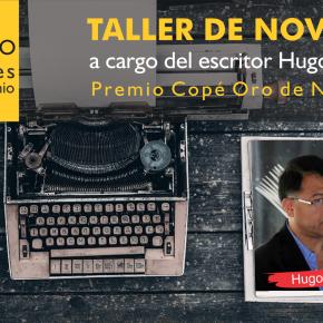 Taller de novela a cargo del escritor Hugo Yuen, Premio Copé Oro deNovela