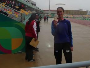 Uruguaya María Pía Fernández obtuvo medalla de oro en Campeonato Sudamericano de Atletismo de Mayores rumbo a los Panamericanos Lima2019