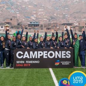 Brasil es el campeón del Torneo Sudamericano Femenino de Rugby 7 que se realizó enLima
