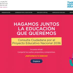Encuesta a ciudadanos peruanos sobre la Educación Nacional2036