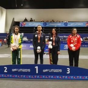 Esgrimista colombiana María Nusa obtuvo oro en categoría Cadete – Espada Femenina en Campeonato Sudamericano2019