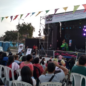 Festival de Cultura Viva en Comunidad llega aChorrillos