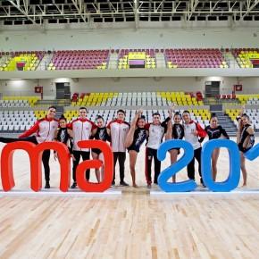 Gimnastas peruanos intensifican su preparación rumbo a los Panamericanos Lima2019