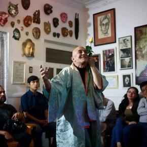 """""""Solo Guillén Solo"""", una propuesta intimista, una ceremonia delcuerpo"""