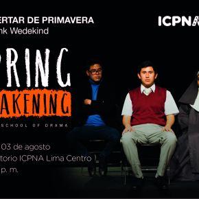 "Icpna presenta ""Springawakening"""